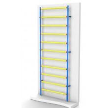 Шведская стенка Leco-IT пластиково-металлическая 280 х 100 см
