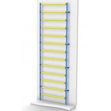Шведская стенка Leco-IT пластиково-металлическая 320 х 100 см